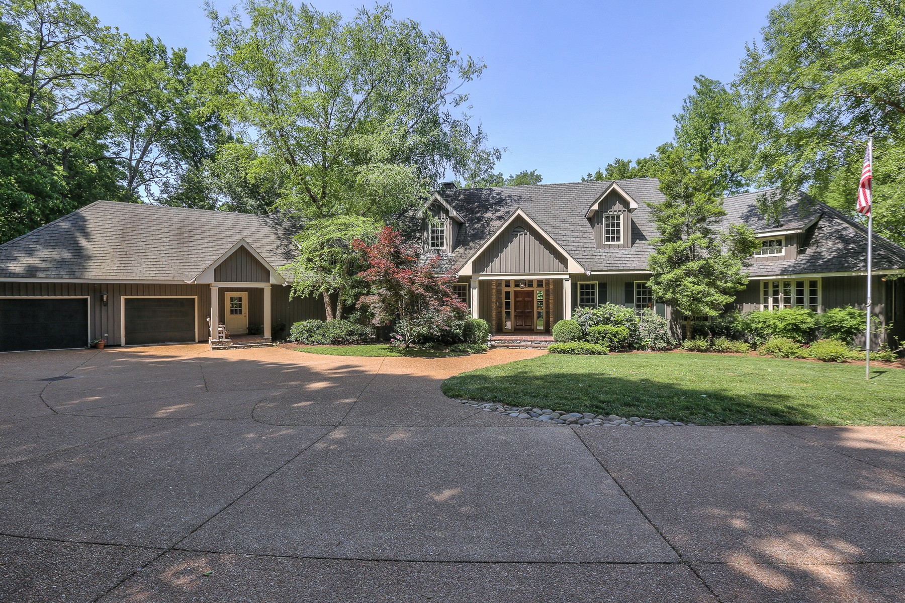 Single Family Home for Sale at Ultimate Privacy. . .25 Wooded Acres Near Steeplechase 320 Vaughn Road Nashville, Tennessee, 37221 United States