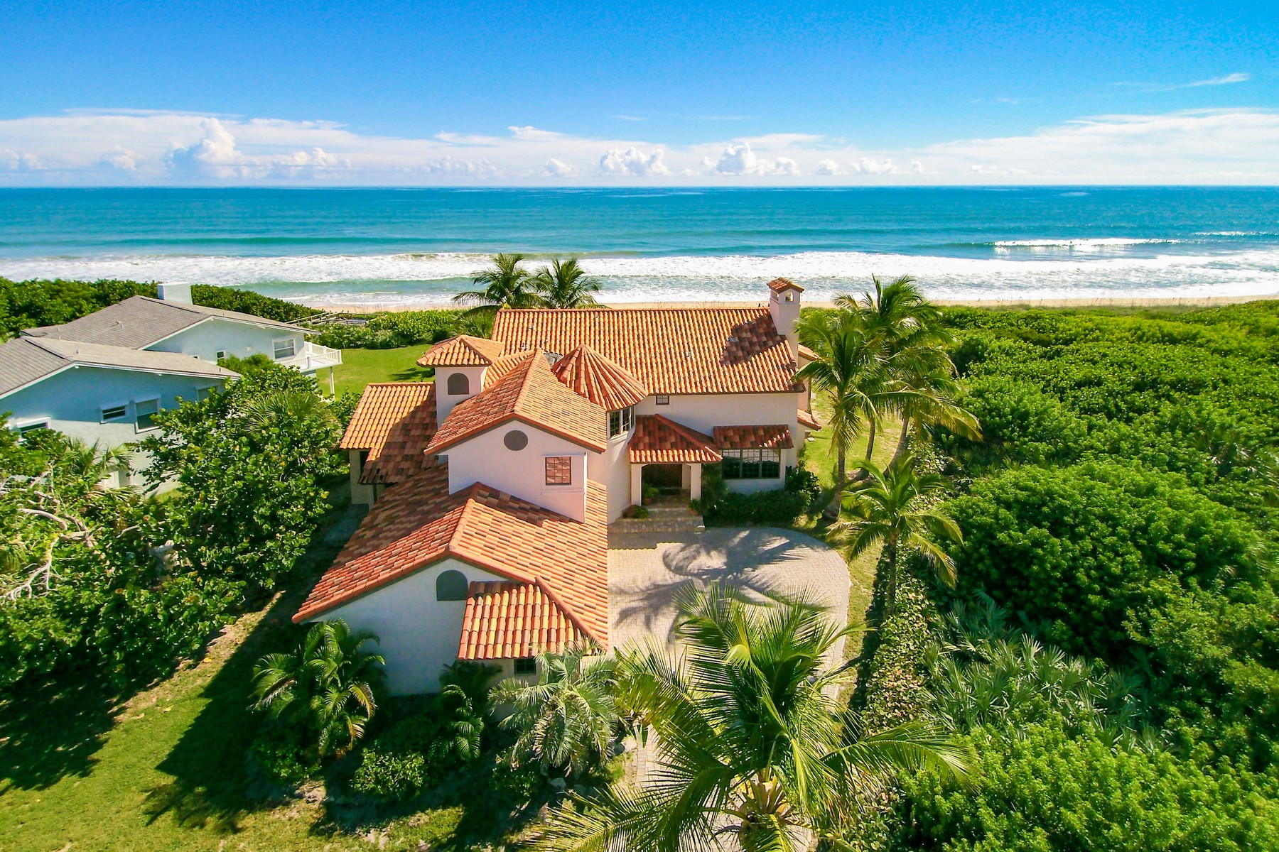 Property For Sale at Extraordinary Oceanfront home in Melbourne Beach