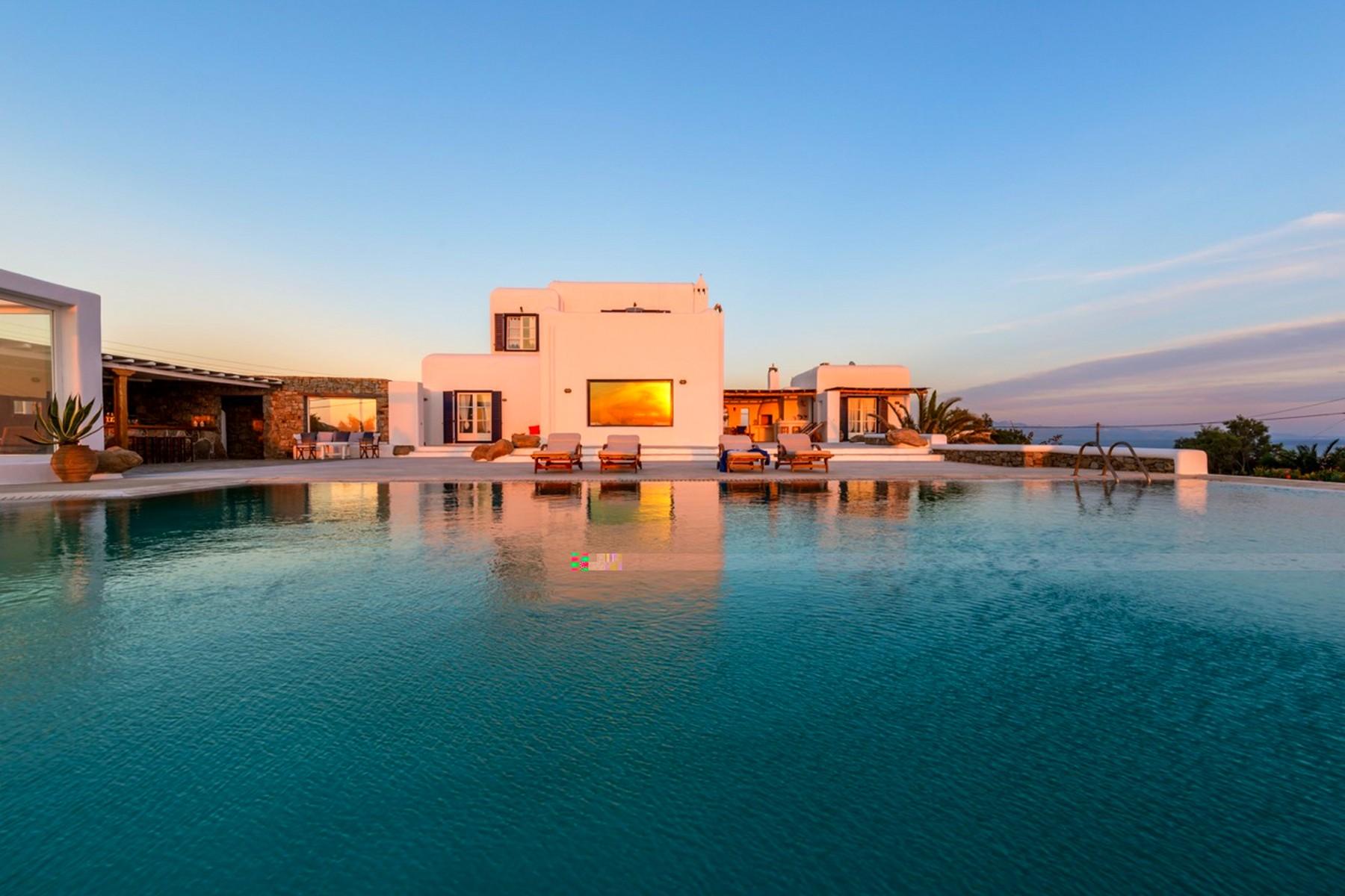 Nhà ở một gia đình vì Bán tại Sea Front Villa Aleomandra, Mykonos, Cycldes, Aegean Mykonos, Nam Aegean, 84600 Hy Lạp