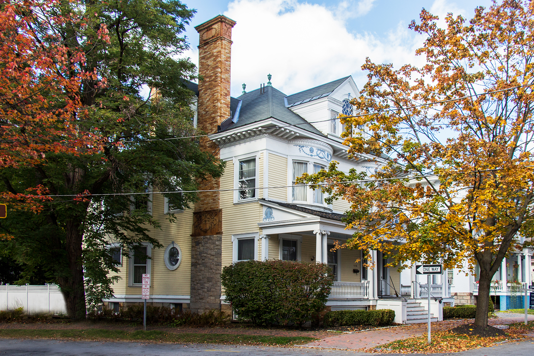 Property For Sale at Downtown Saratoga Victorian Mansion