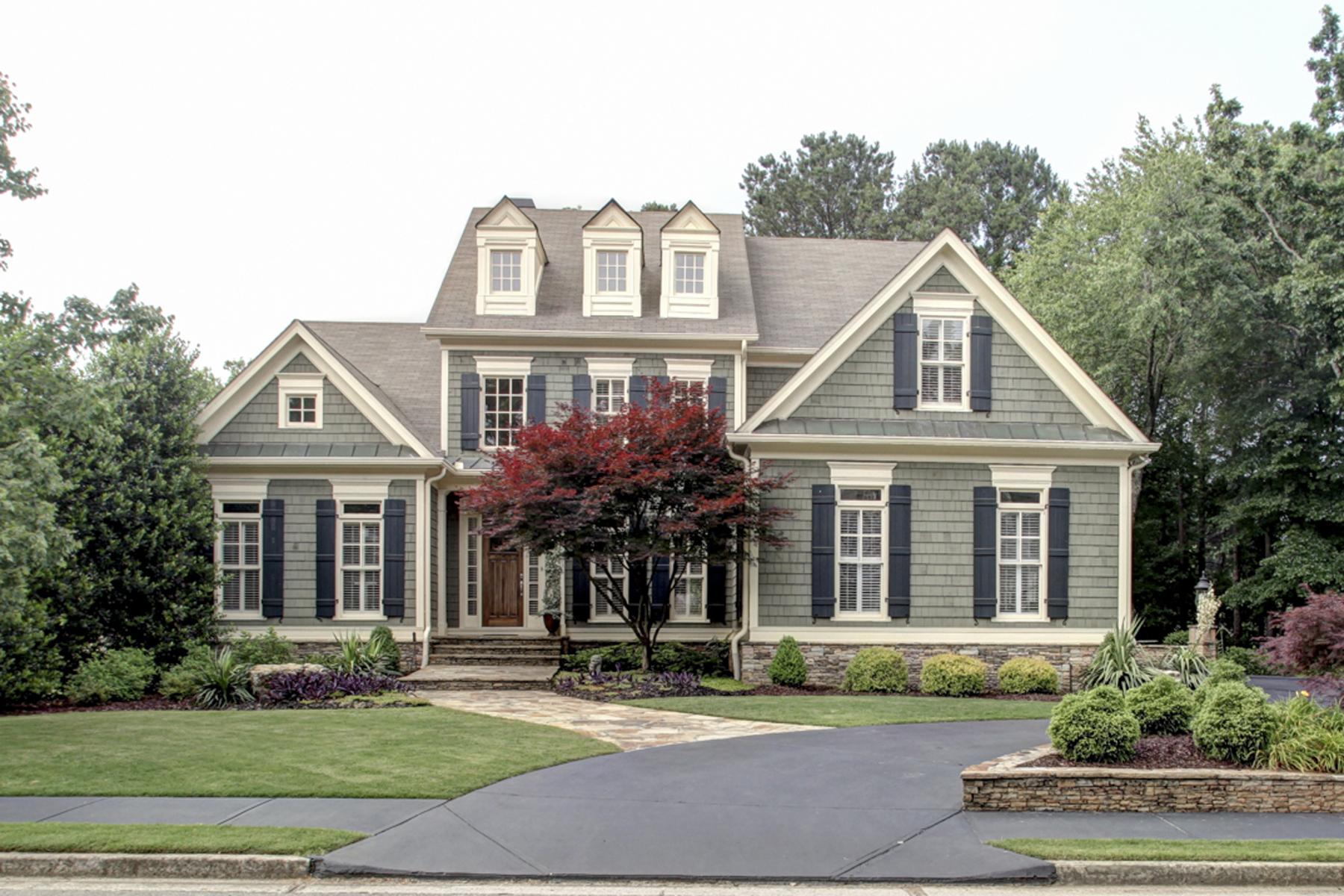 Частный односемейный дом для того Продажа на Fantastic Home In Amazing Garden Setting 640 Tabbystone Street NW Marietta, Джорджия, 30064 Соединенные Штаты
