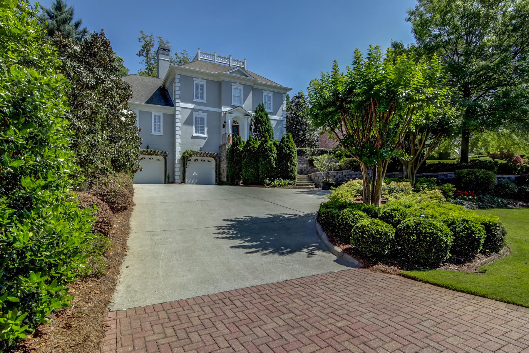 Villa per Vendita alle ore Executive Home In Gated Community 2320 Garden Park Drive Smyrna, Georgia, 30080 Stati Uniti