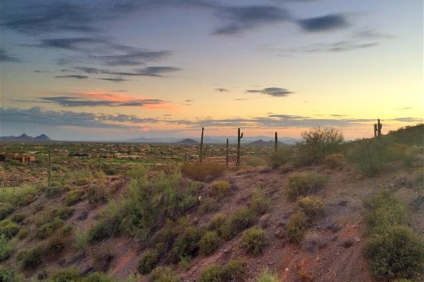 Property For Sale at Elevated five acre homesite located in Lone Mountain at Carefree Ranch