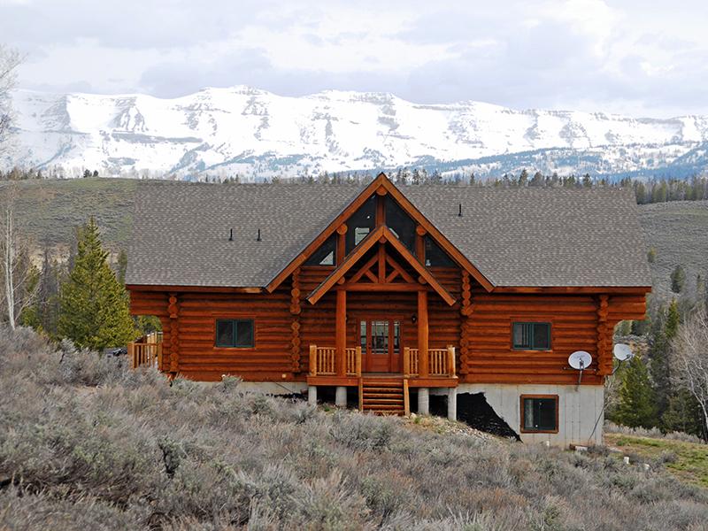 Vivienda unifamiliar por un Venta en Log Home in Hoback Ranches 36 Vista Ridge Lane Bondurant, Wyoming 82922 Estados Unidos