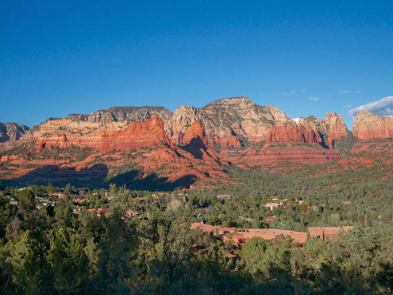 토지 용 매매 에 Beautiful Scenic Sedona Views 1800 Cline Rd Sedona, 아리조나, 86336 미국