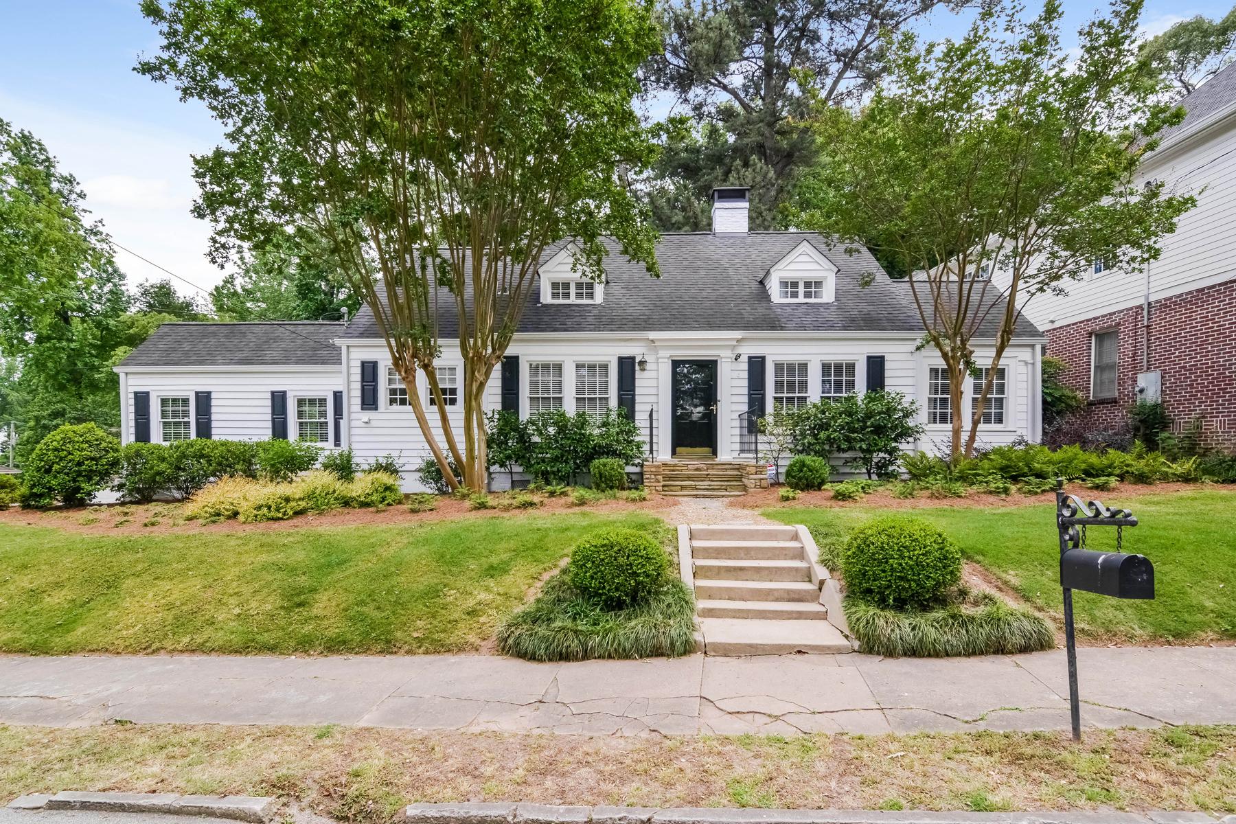 Single Family Home for Sale at Beautiful Buckhead Cape Cod 95 Highland Drive NE Peachtree Park, Atlanta, Georgia, 30305 United States