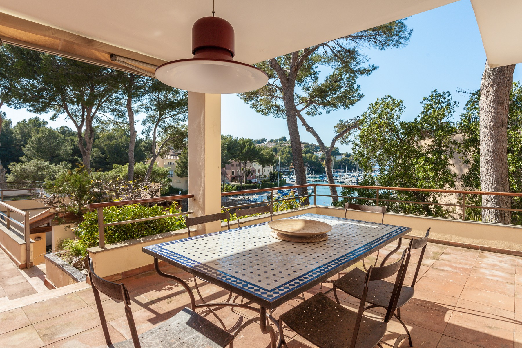 Single Family Home for Sale at Villa with views of the harbour of Santa Ponsa Santa Ponsa, Mallorca 07182 Spain