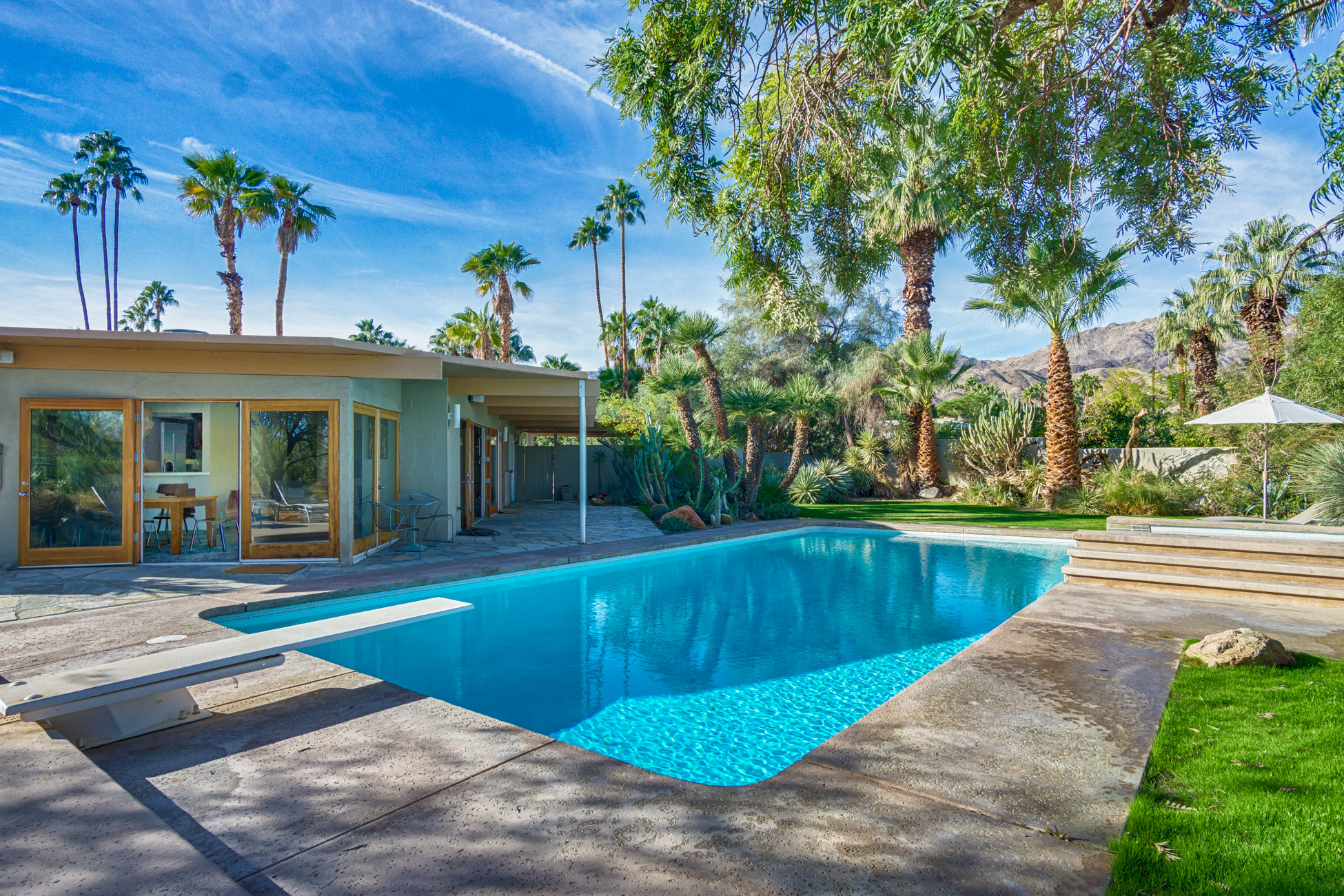 Single Family Home for Sale at Upscale Mid Century Modern 73110 Grapevine Street Palm Desert, California 92260 United States