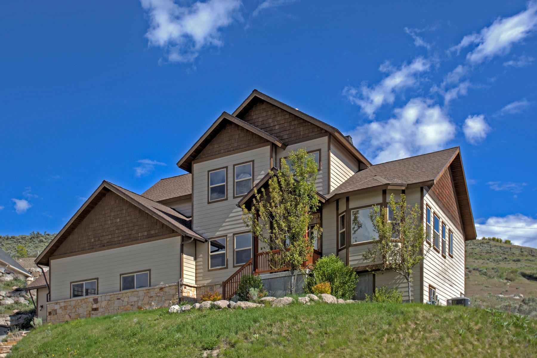 Villa per Vendita alle ore Like-New Cove Estates Home in Heber City 1890 N Callaway Drive Lot #100 Heber City, Utah 84032 Stati Uniti