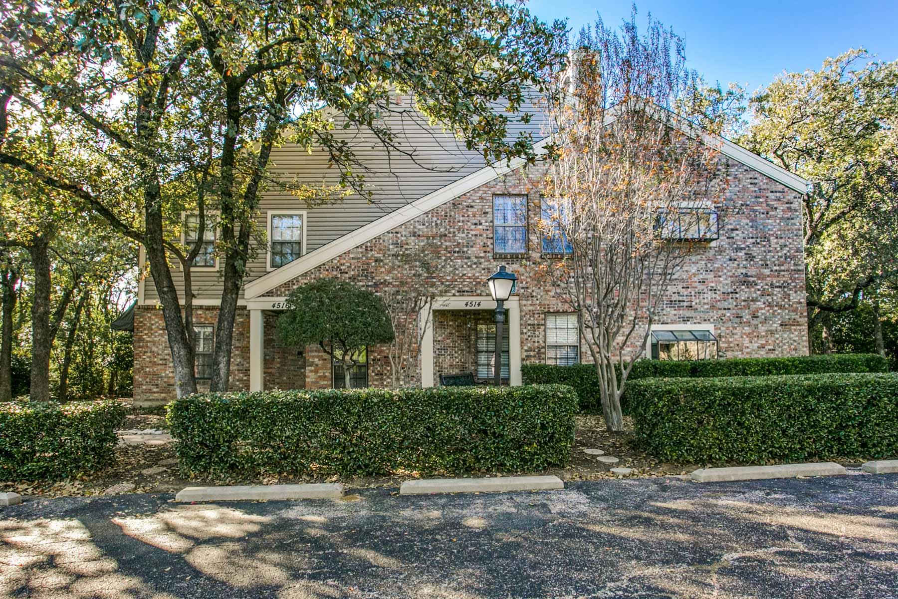 Nhà chung cư vì Bán tại Semi-Contemporary Condominum 4516 Forestgate Circle Arlington, Texas, 76017 Hoa Kỳ