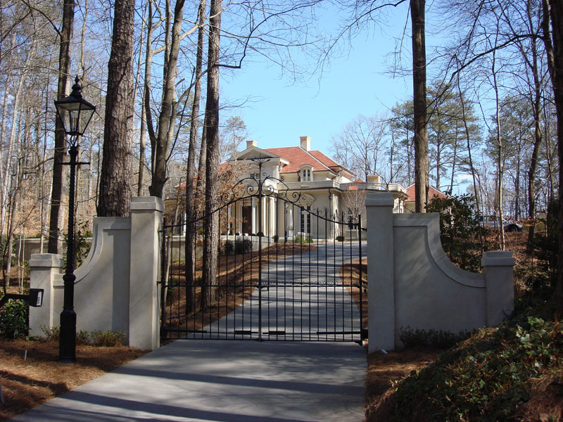 Single Family Home for Sale at Gated Italianate Estate in Buckhead 4327 E Conway Drive NW Buckhead, Atlanta, Georgia 30327 United States