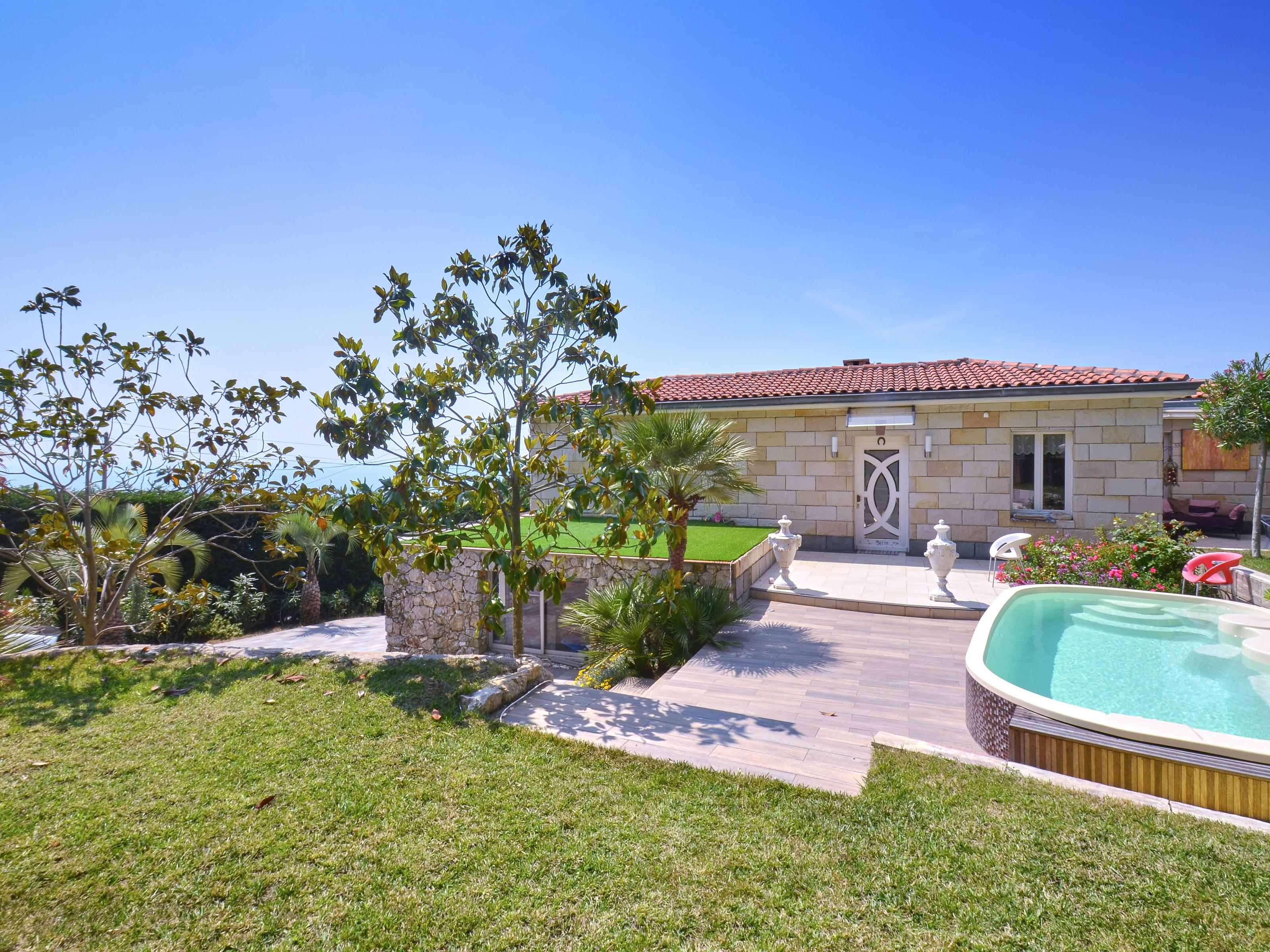 Maison unifamiliale pour l Vente à Villa with sea view and pool close to Monaco Eze sur Mer Other Provence-Alpes-Cote D'Azur, Provence-Alpes-Cote D'Azur 06360 France