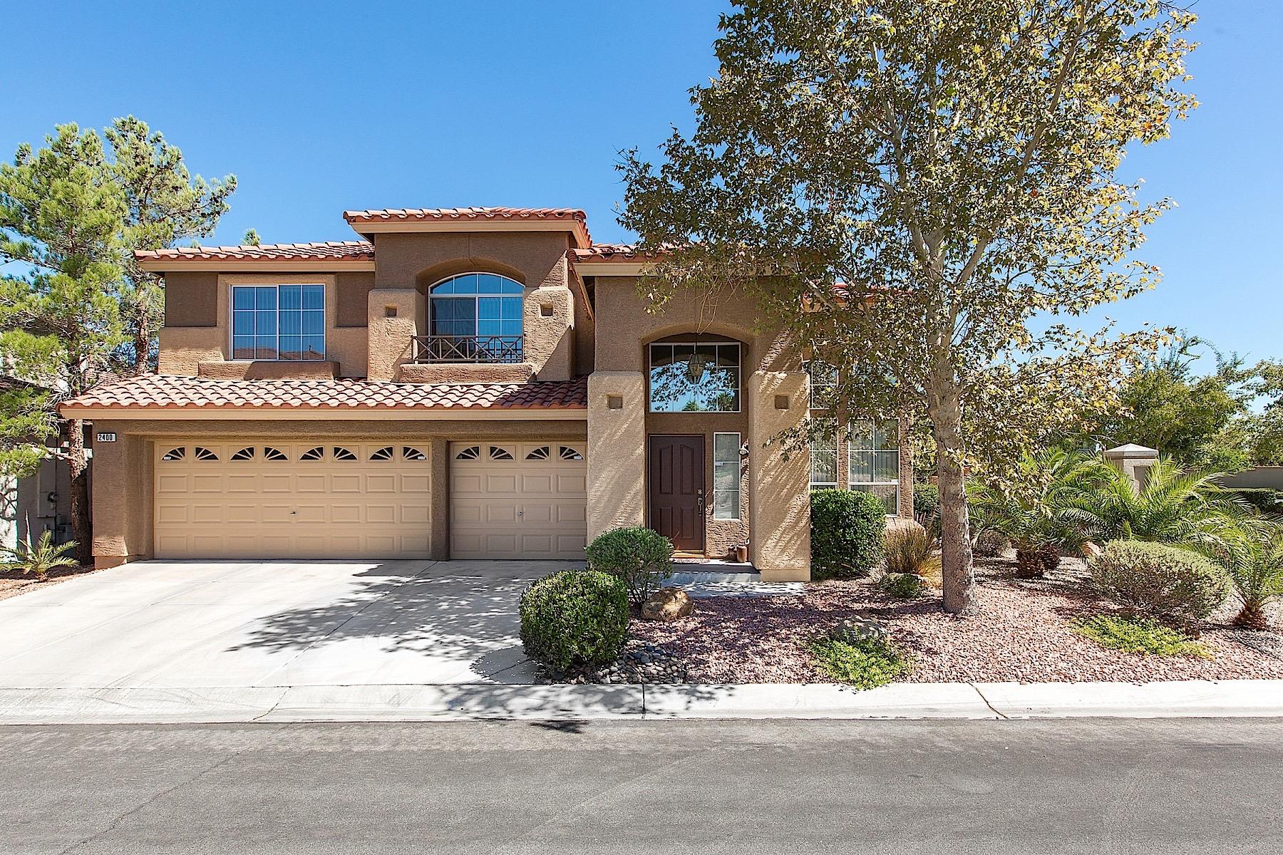 단독 가정 주택 용 매매 에 2400 Sunrise Meadows Dr Las Vegas, 네바다 89134 미국