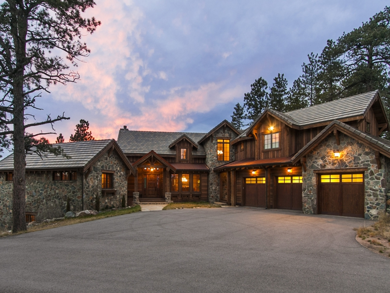 Maison unifamiliale pour l Vente à 2929 Highlands View Road Evergreen, Colorado 80439 États-Unis