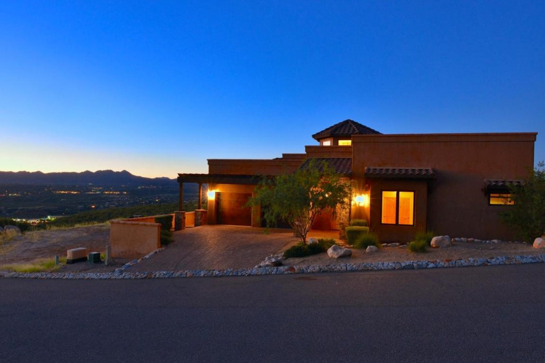 Single Family Home for Sale at Well Appointed Classic Mediterranean Style Home Resting on a High Private Mesa 2551 E Della Roccia Court Oro Valley, Arizona 85737 United States