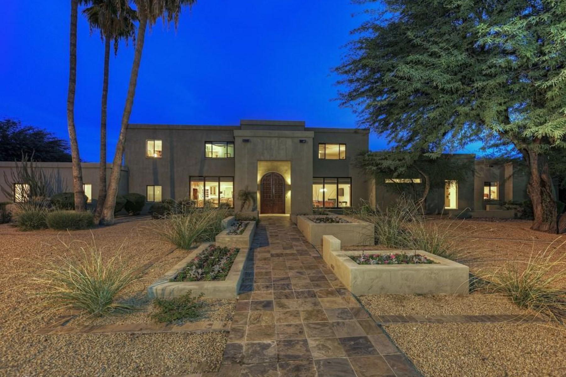 Casa Unifamiliar por un Venta en Exquisite, contemporary remodel on interior cul-de-sac lot 6039 E LAUREL LN Scottsdale, Arizona 85254 Estados Unidos