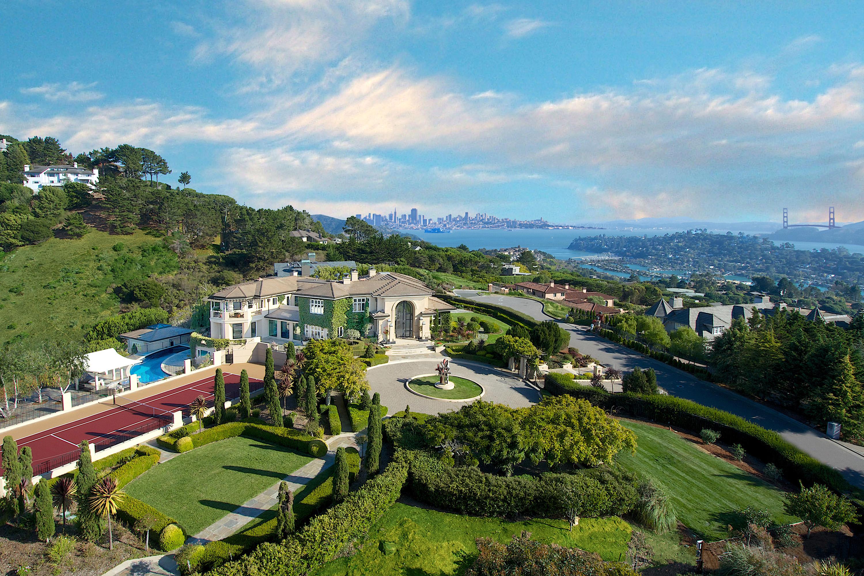 Single Family Home for Sale at Stunning Tiburon Estate 185 Gilmartin Drive Tiburon, California 94920 United States