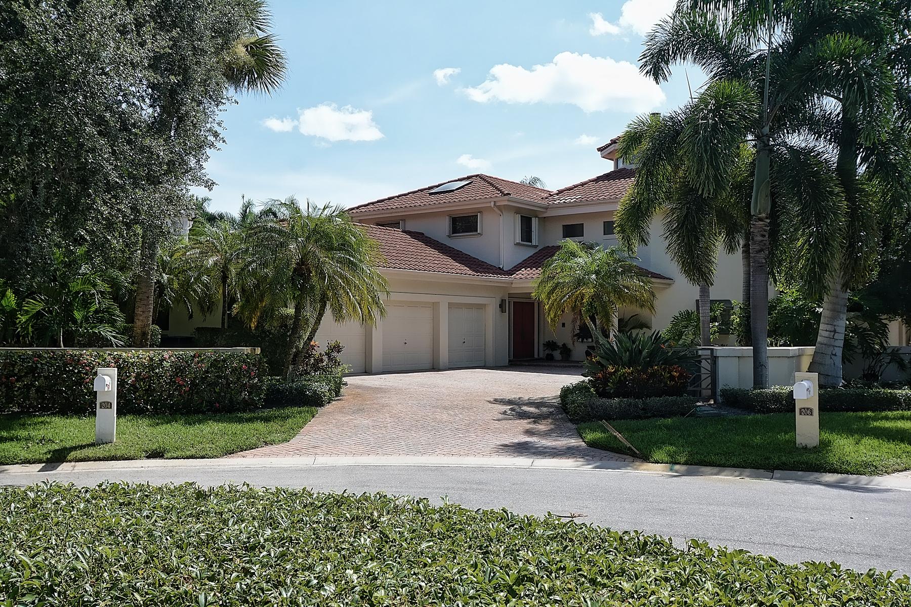 단독 가정 주택 용 매매 에 204 Chinook Lane The Loxahatchee Club, Jupiter, 플로리다 33458 미국