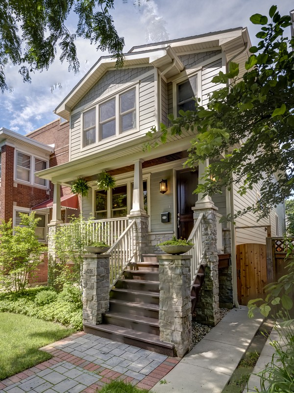 Single Family Home for Sale at Luxury Newer Construction 4236 N Bell Avenue Chicago, Illinois 60618 United States