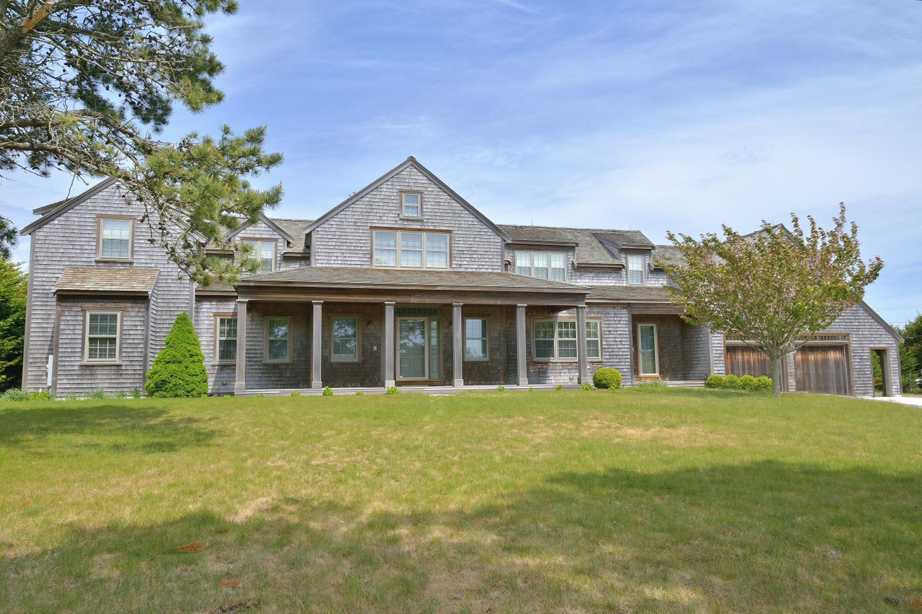 Частный односемейный дом для того Продажа на 2 Acres - West of Town 1 Maxey Pond Road Nantucket, Массачусетс 02554 Соединенные Штаты