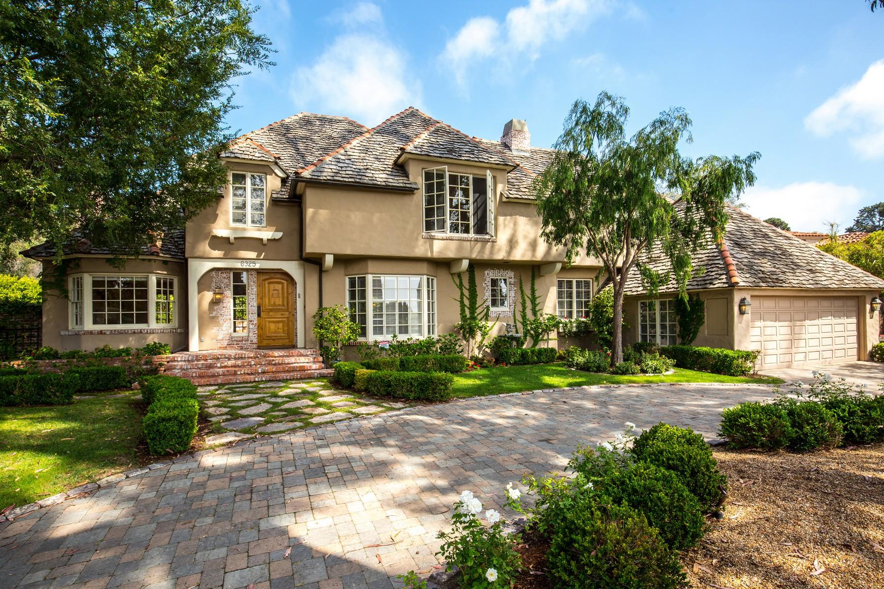 Частный односемейный дом для того Продажа на 6325 Muirlands Drive La Jolla, Калифорния 92037 Соединенные Штаты