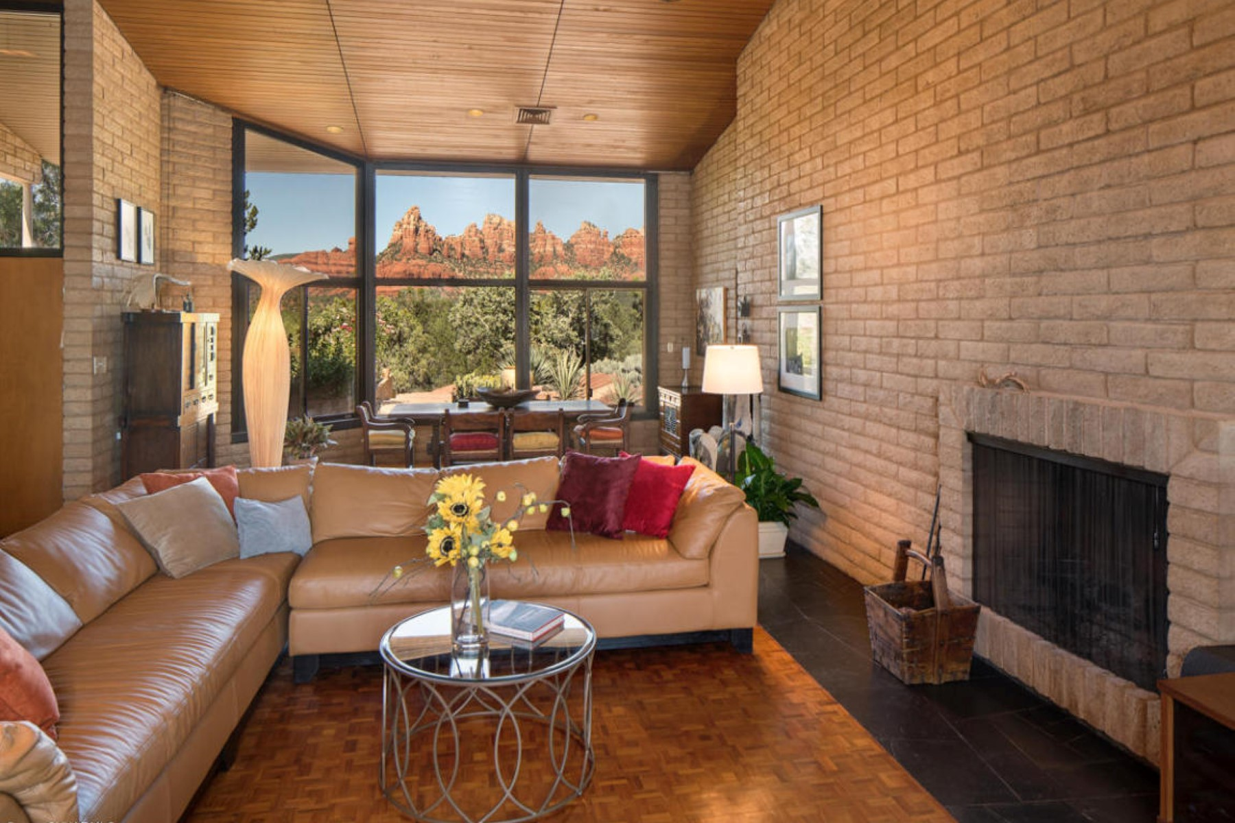 Single Family Home for Sale at Amazing Mid Century Modern beauty 324 Bowstring Drive Sedona, Arizona, 86336 United States