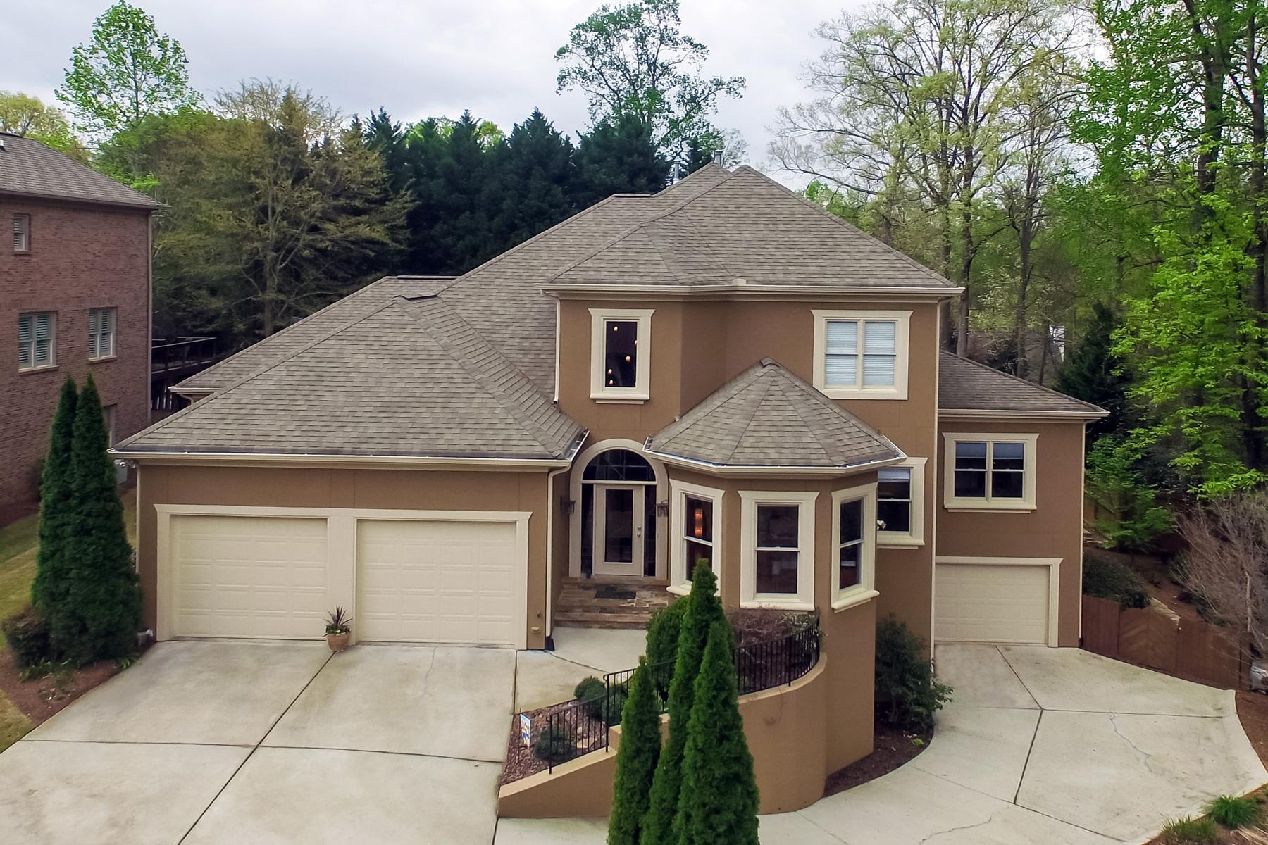 단독 가정 주택 용 매매 에 Exquisite Light Filled Custom Built Home 1225 Brooke Greene NE Atlanta, 조지아, 30319 미국