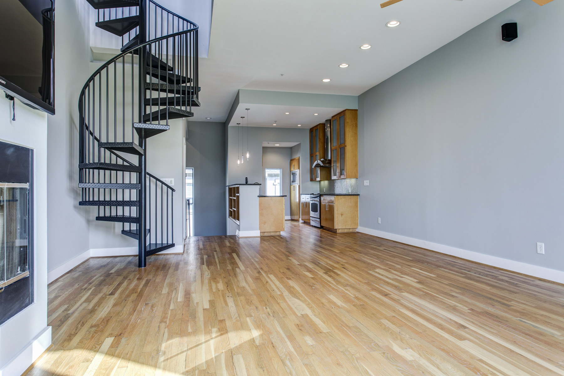 Townhouse for Sale at Modern Townhouse in State Thomas 2111 Clark Street #D Dallas, Texas, 75204 United States