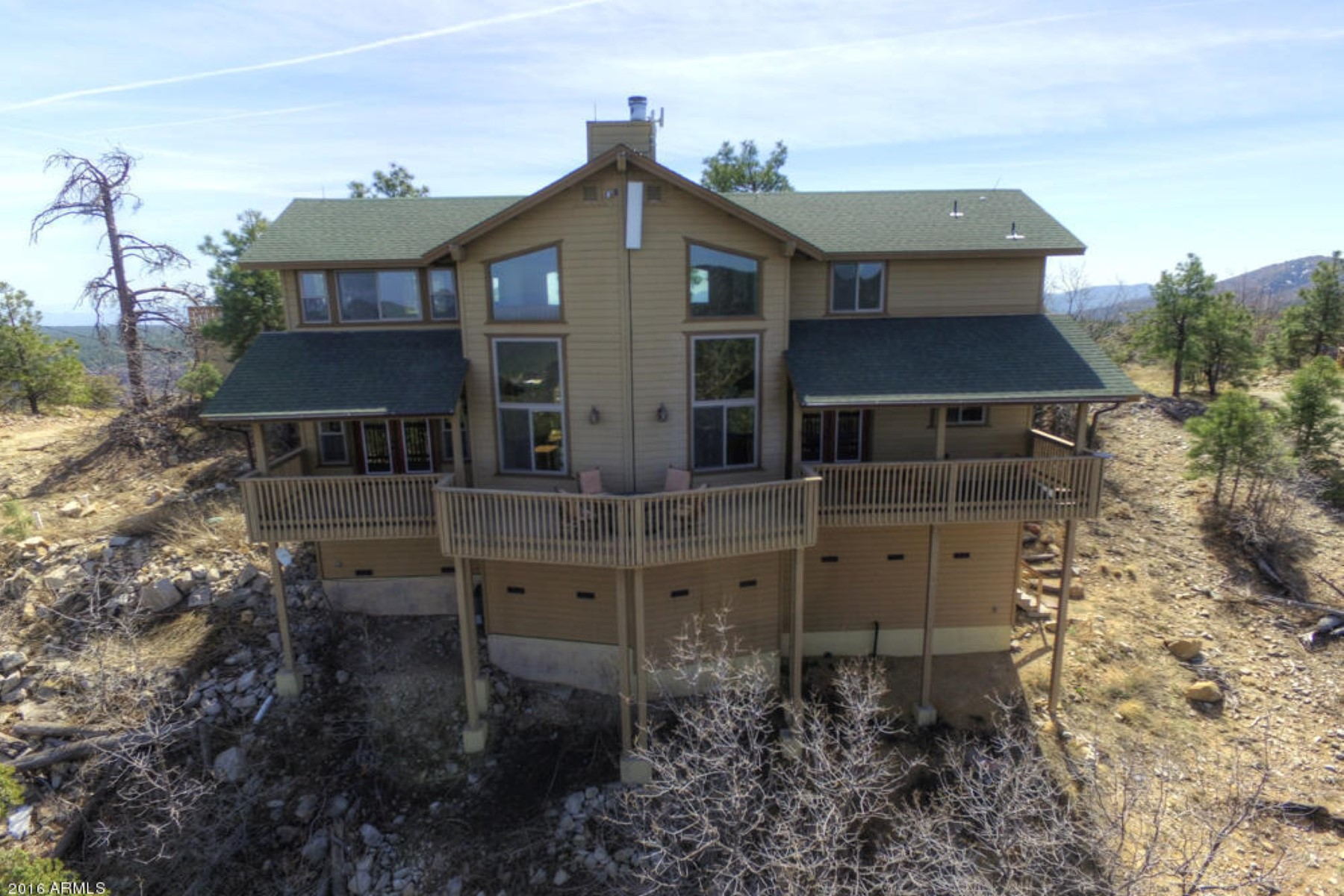 sales property at Lovely mountain top home in a gated area