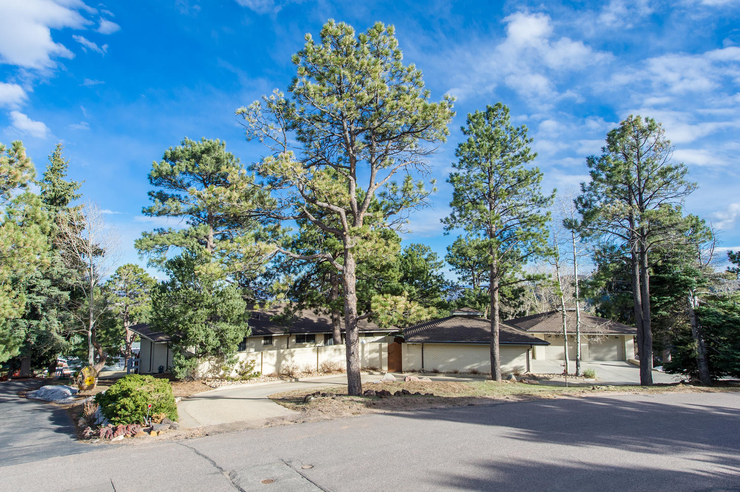 Single Family Home for Sale at Mid Century Modern with City Lights Views 128 Dekker Drive Golden, Colorado, 80401 United States