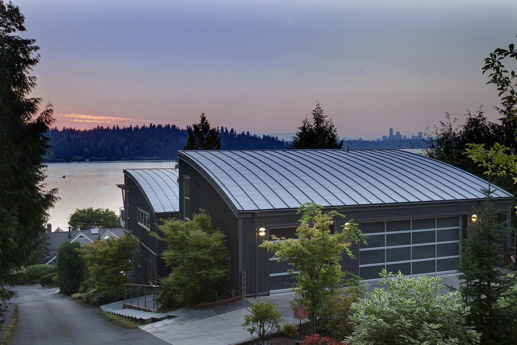 sales property at Modern Mercer Island Home