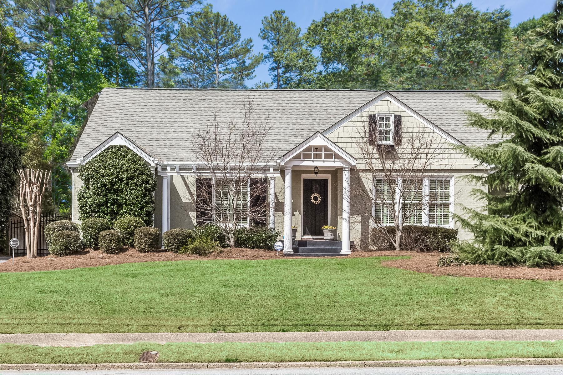 Moradia para Venda às Cape Cod Home in Sought After Morningside 1738 Johnson Road Atlanta, Geórgia, 30306 Estados Unidos