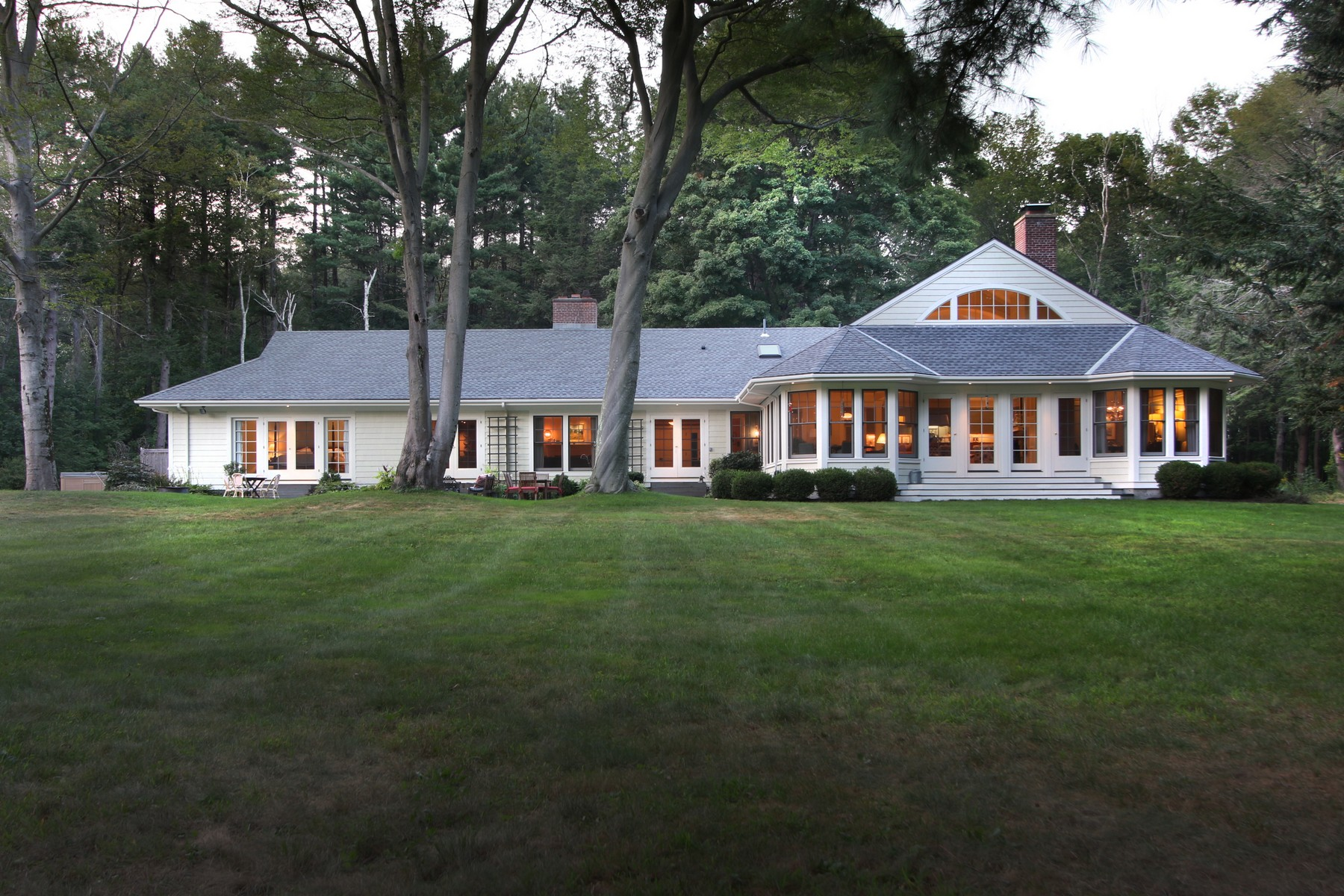 Single Family Home for Sale at Amidst Pristine New England Landscape 28 Old Concord Road Lincoln, Massachusetts 01773 United States