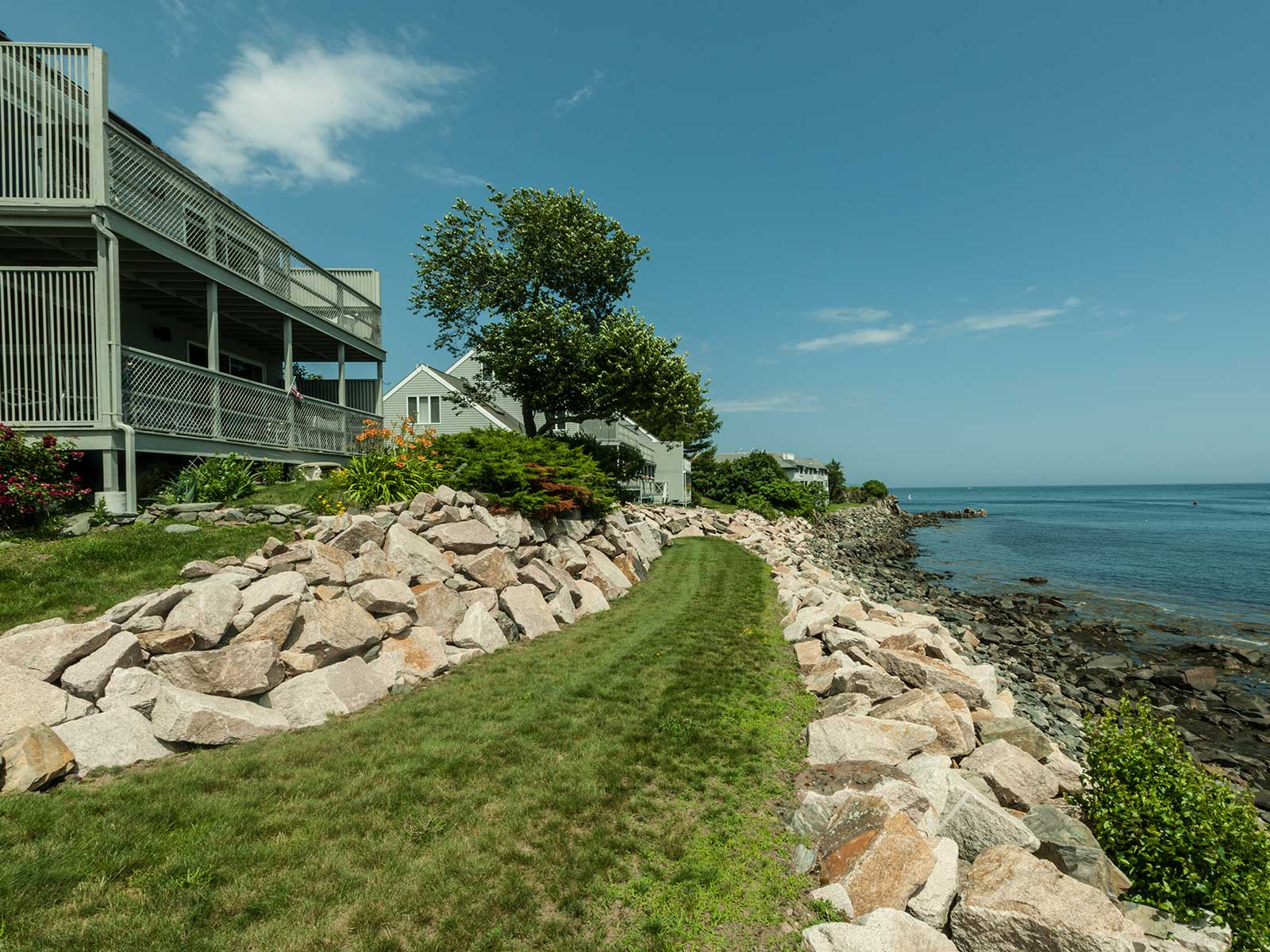 Property For Sale at York Harbor Oceanfront Townhouse at Stage Neck Colony