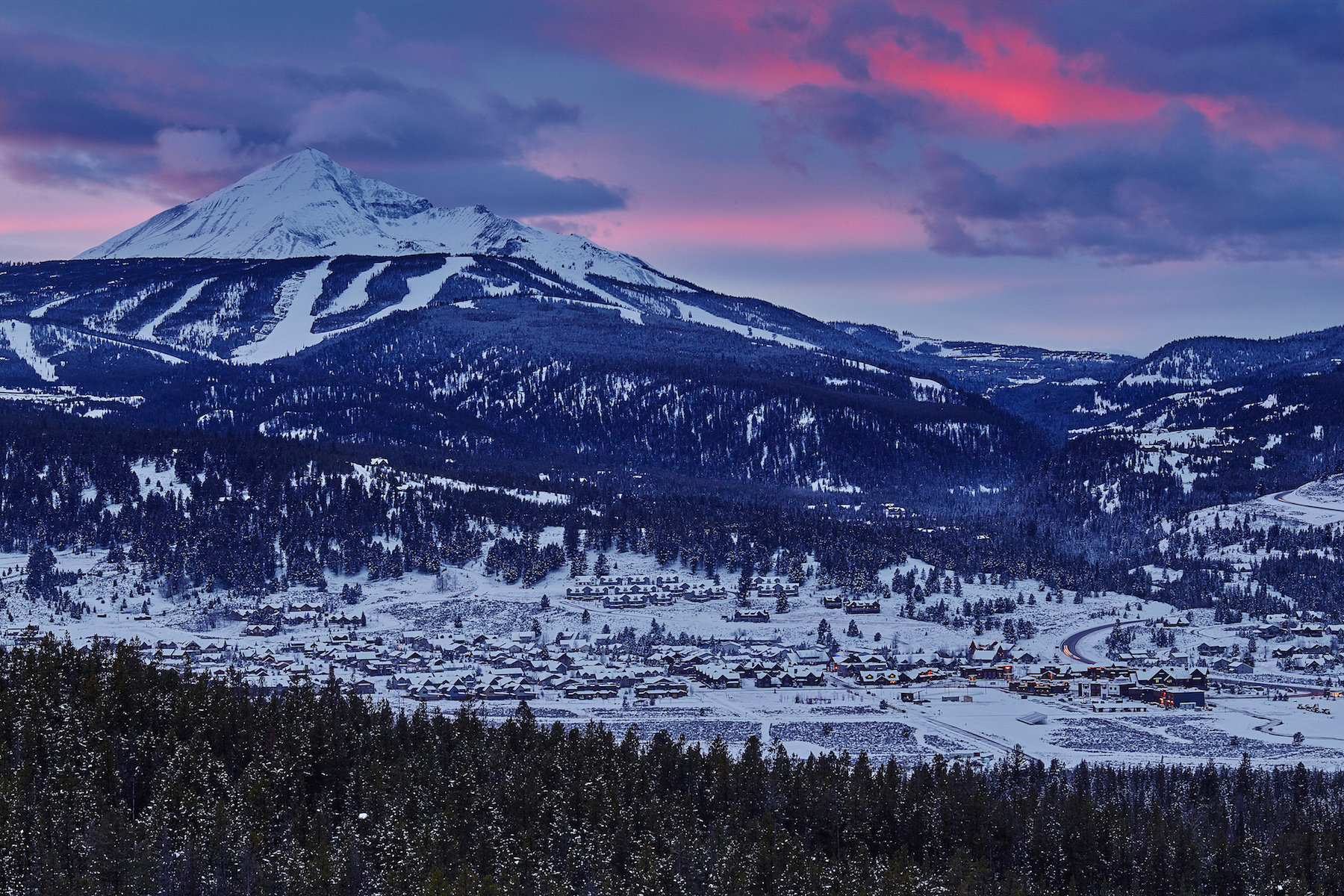 Land for Sale at The Best View in Town Red Moose Lane, Skywood Preserve Lot 24 Big Sky, Montana 59716 United States