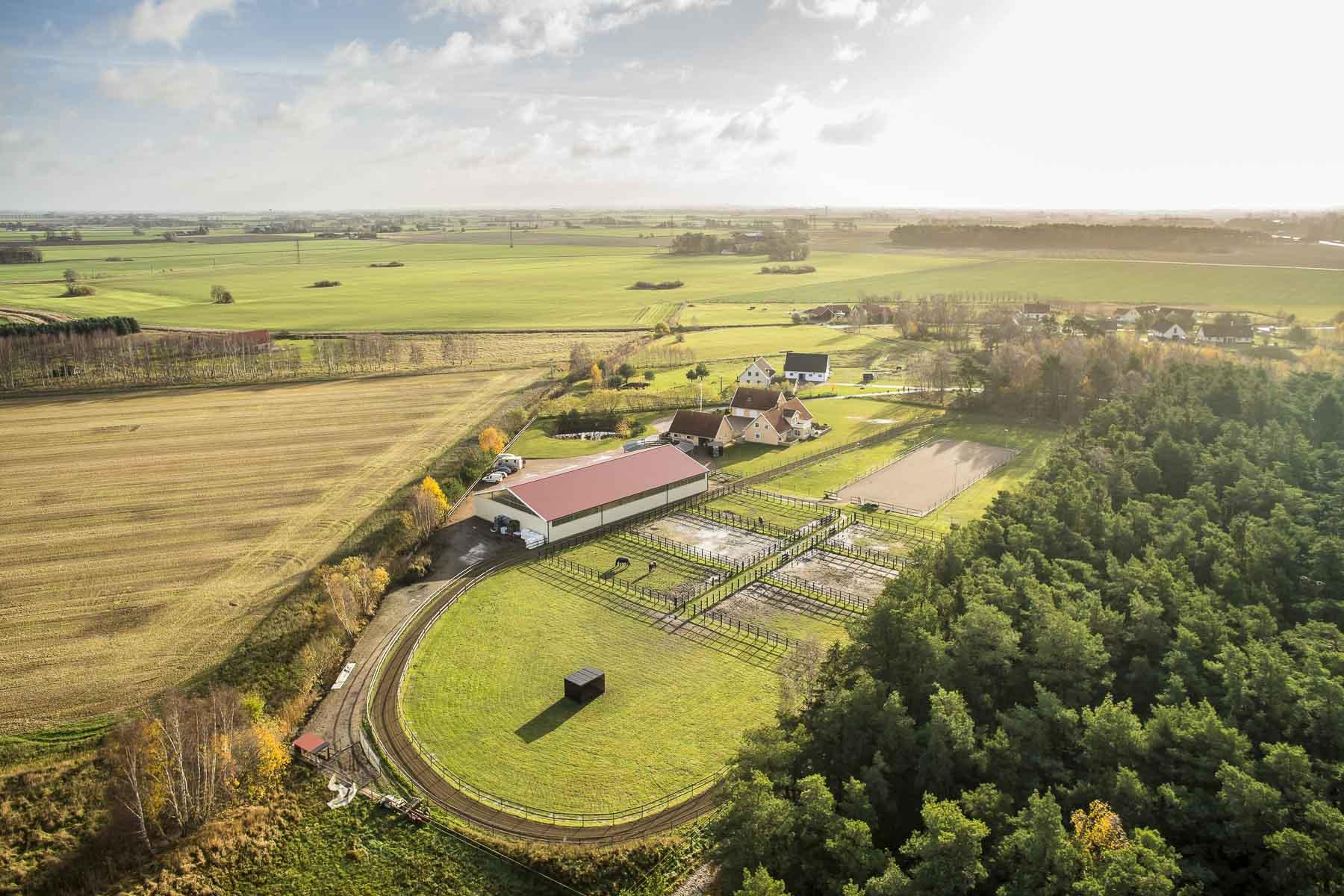 農場/牧場 / プランテーション のために 売買 アット Chevallvägen 1 Other Skane, Skane, 24650 スウェーデン