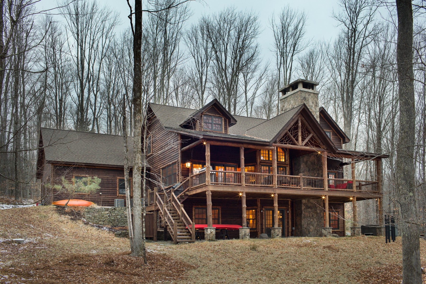 Single Family Home for Sale at Lodge on Sunrise Cove at The Chapin Estate 47 Sunrise Point Bethel, New York 12720 United States