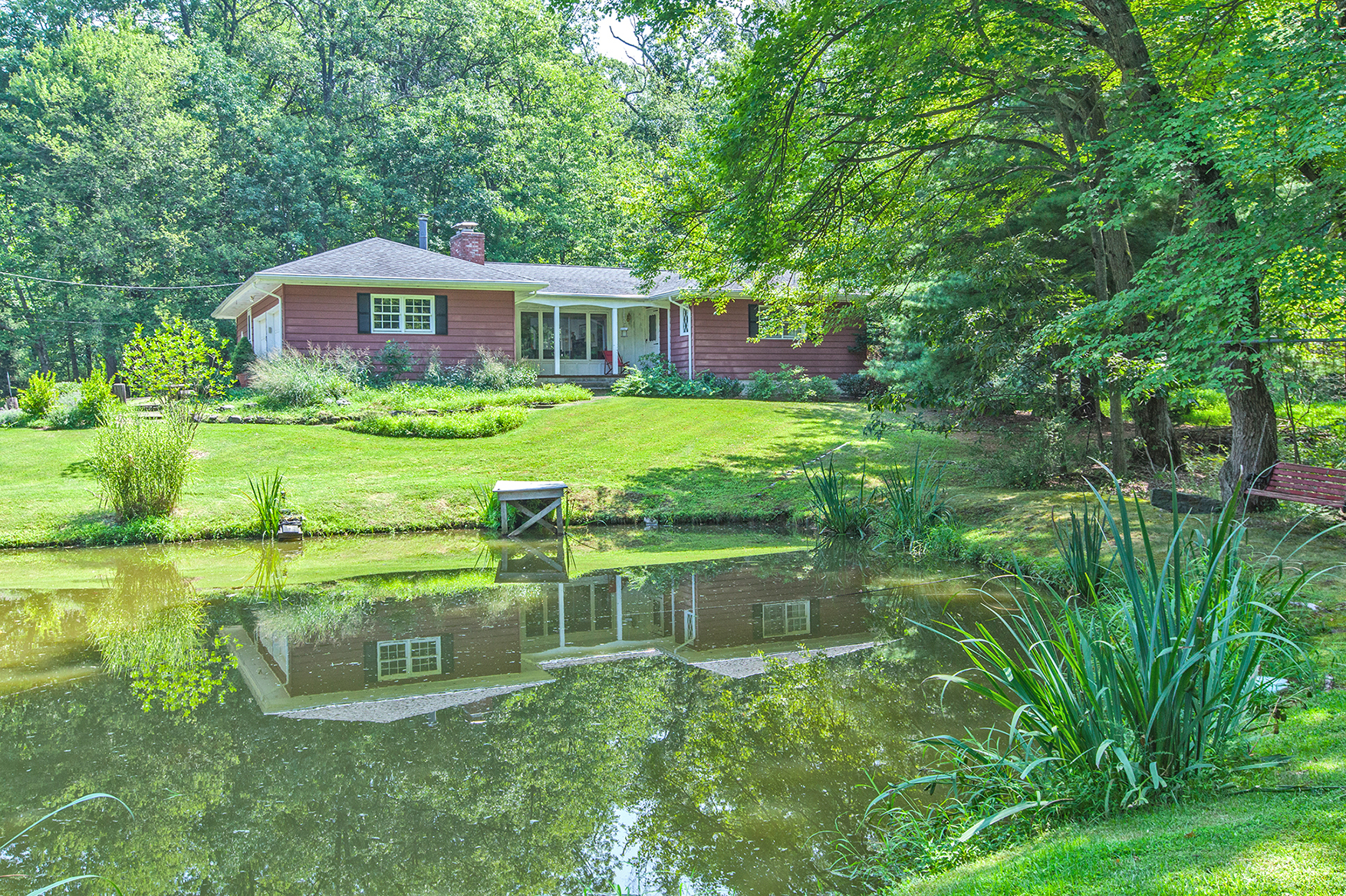 Property For Sale at A Country Retreat, with All the Comforts of Home - East Amwell Township