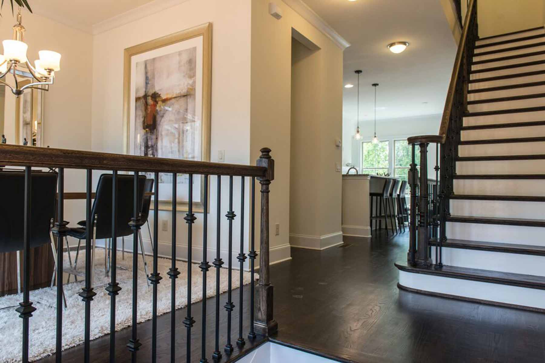 Additional photo for property listing at Brand New Townhomes near Emory 1212 Virginia Court NE Unit 206 Atlanta, Georgia 30306 États-Unis