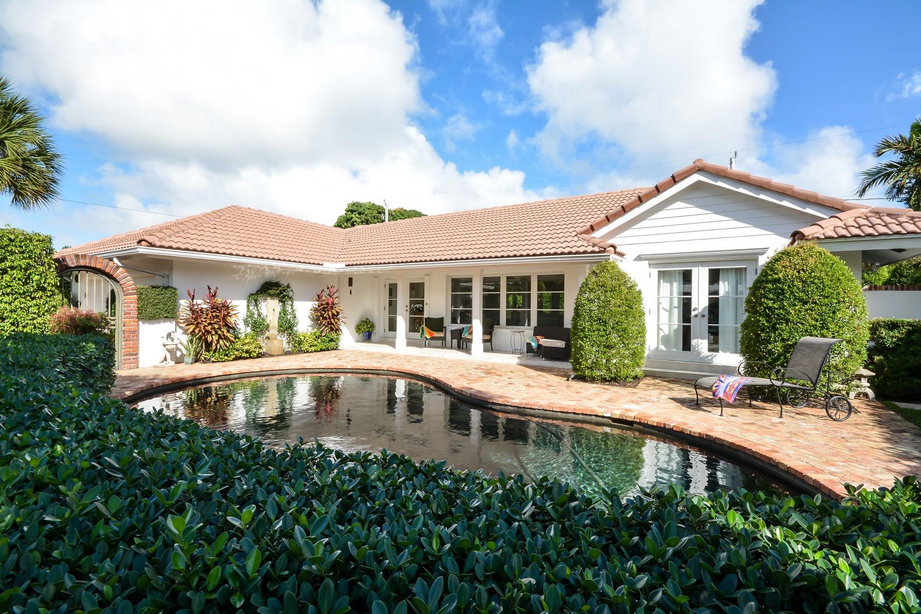 共管式独立产权公寓 为 销售 在 4508 NE 22 Rd 劳德代尔堡, 佛罗里达州 33308 美国