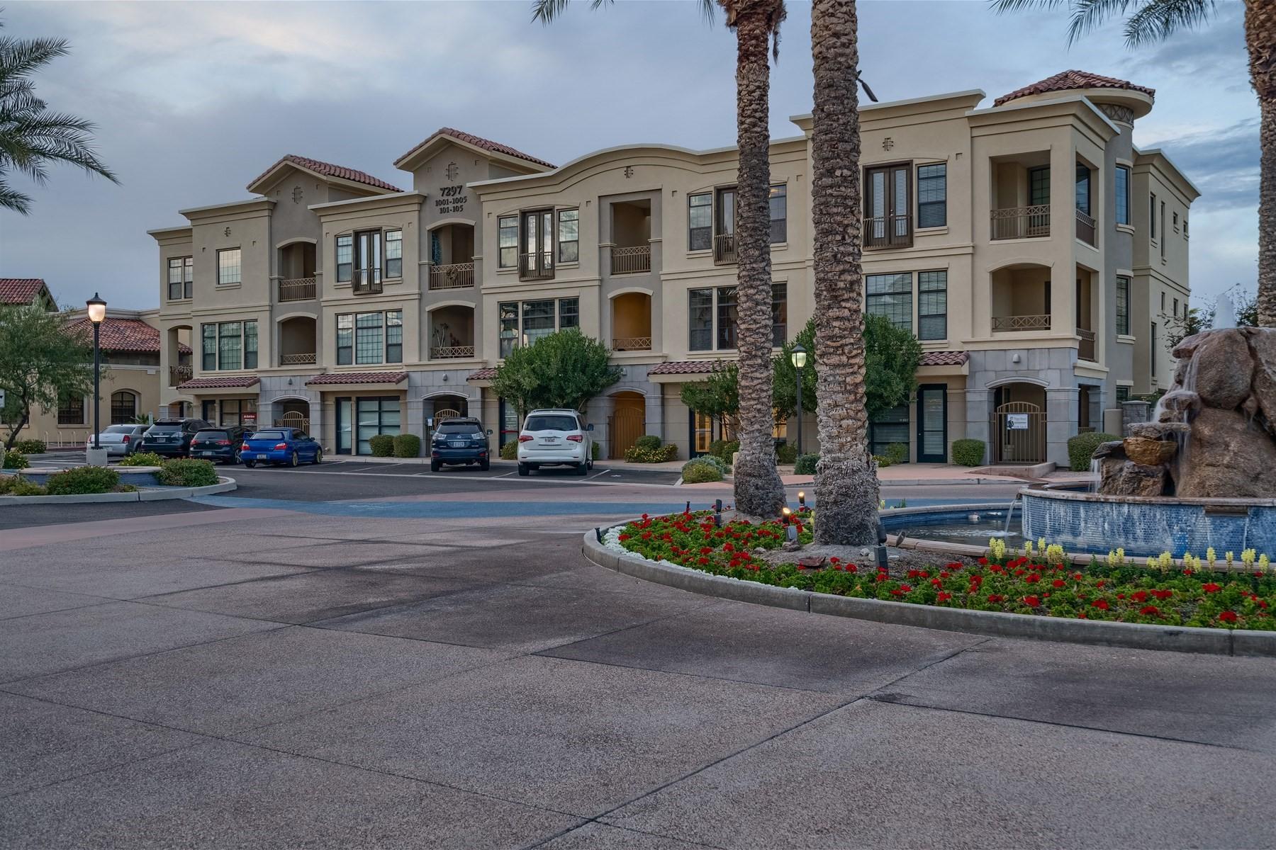 Stadthaus für Verkauf beim Beautiful home with gorgeous mountain views 7297 N Scottsdale Rd #1004 Scottsdale, Arizona, 85253 Vereinigte Staaten