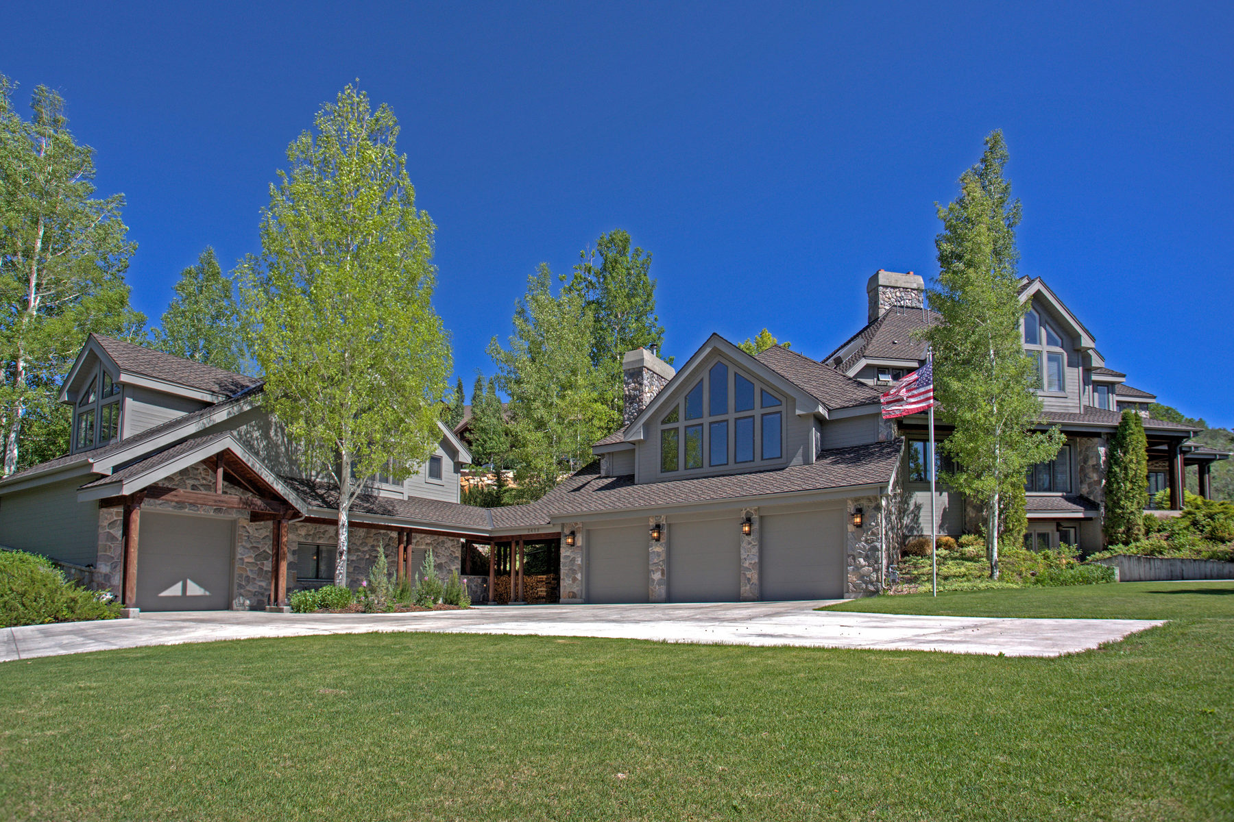 Single Family Home for Sale at Ultimate family retreat with guest home on nearly four acres. 2458 Silver Cloud Dr Park City, Utah 84060 United States