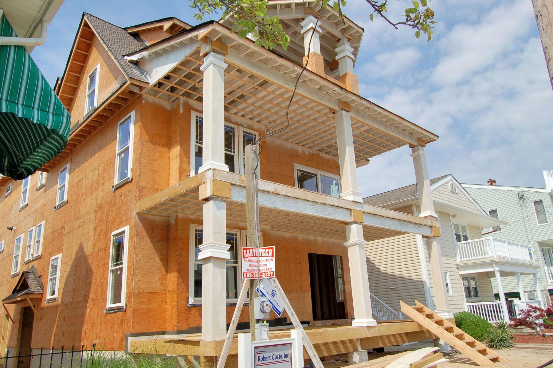 Duplex 용 매매 에 New Construction Duplex 864 Brighton Place Ocean City, 뉴저지 08226 미국
