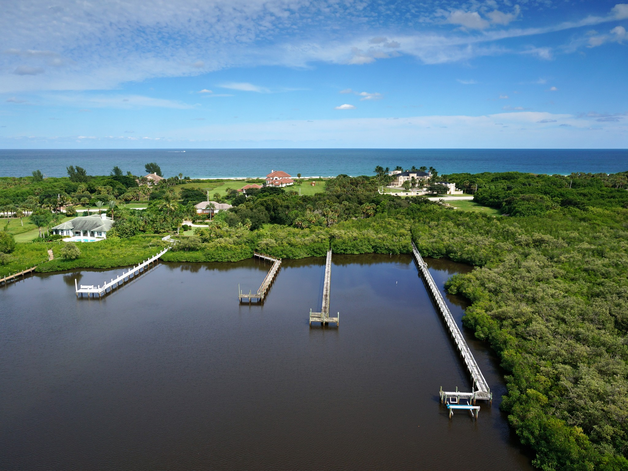 토지 용 매매 에 Riverfront Homesite 2135 South Highway A1A Vero Beach, 플로리다 32963 미국