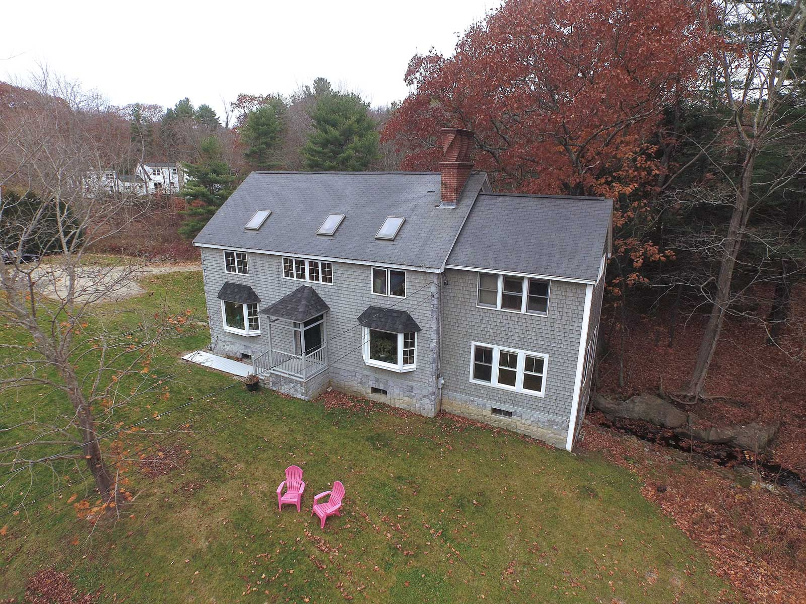 Single Family Home for Sale at Cape Neddick New Englander 52 River Road York, Maine, 03902 United States
