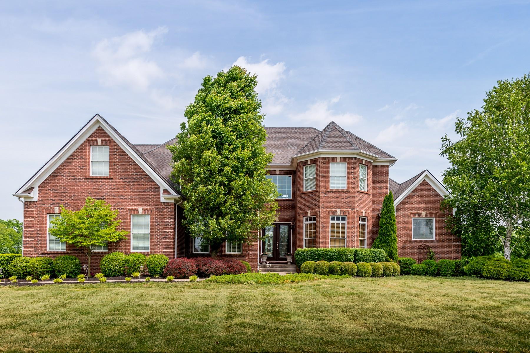 Maison unifamiliale pour l Vente à 202 Golf Club Drive Nicholasville, Kentucky, 40356 États-Unis