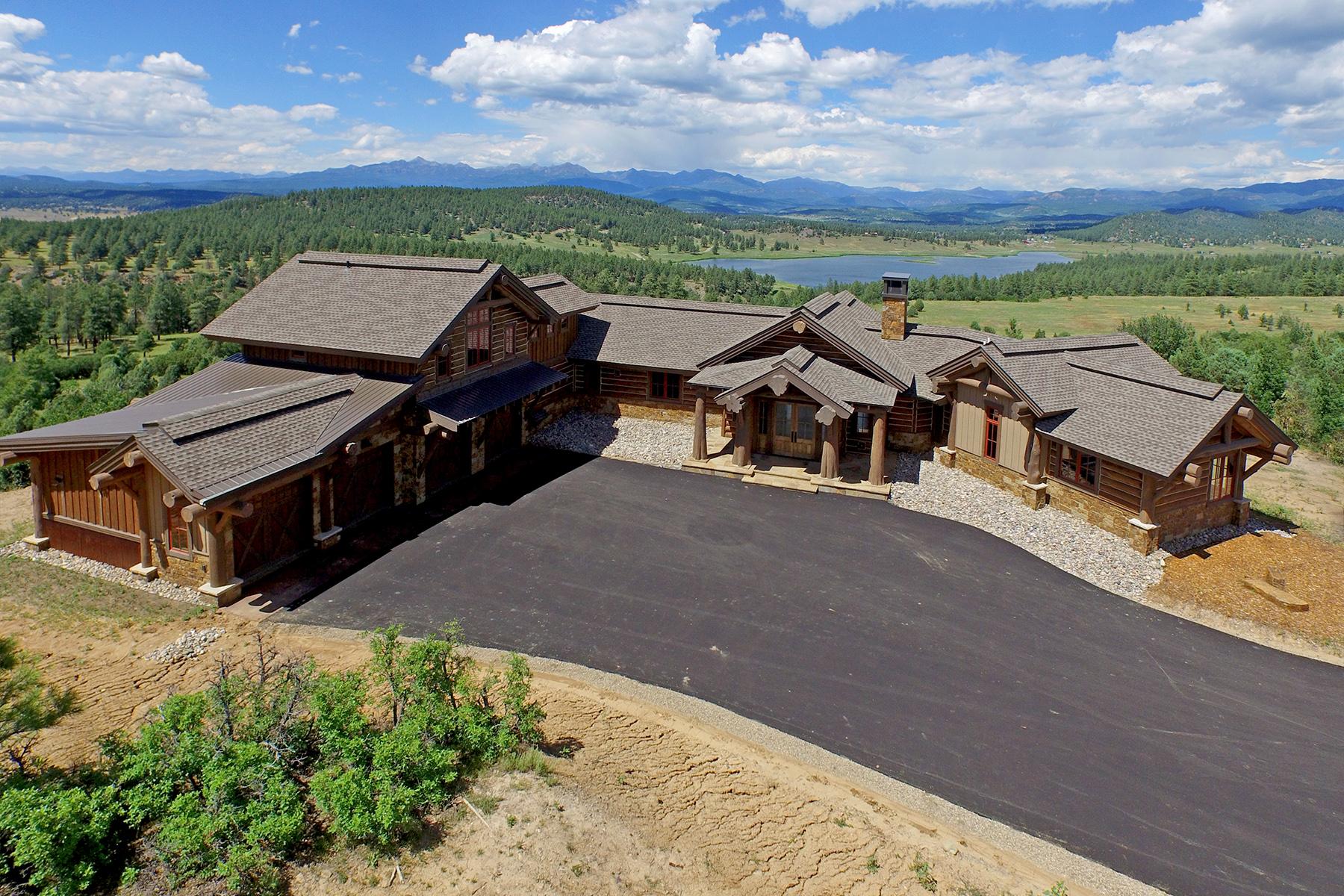 Single Family Home for Sale at Echo Lake Lodge 1515 Echo Canyon Ranch Lane Echo Lake Lodge Pagosa Springs, Colorado 81147 United States