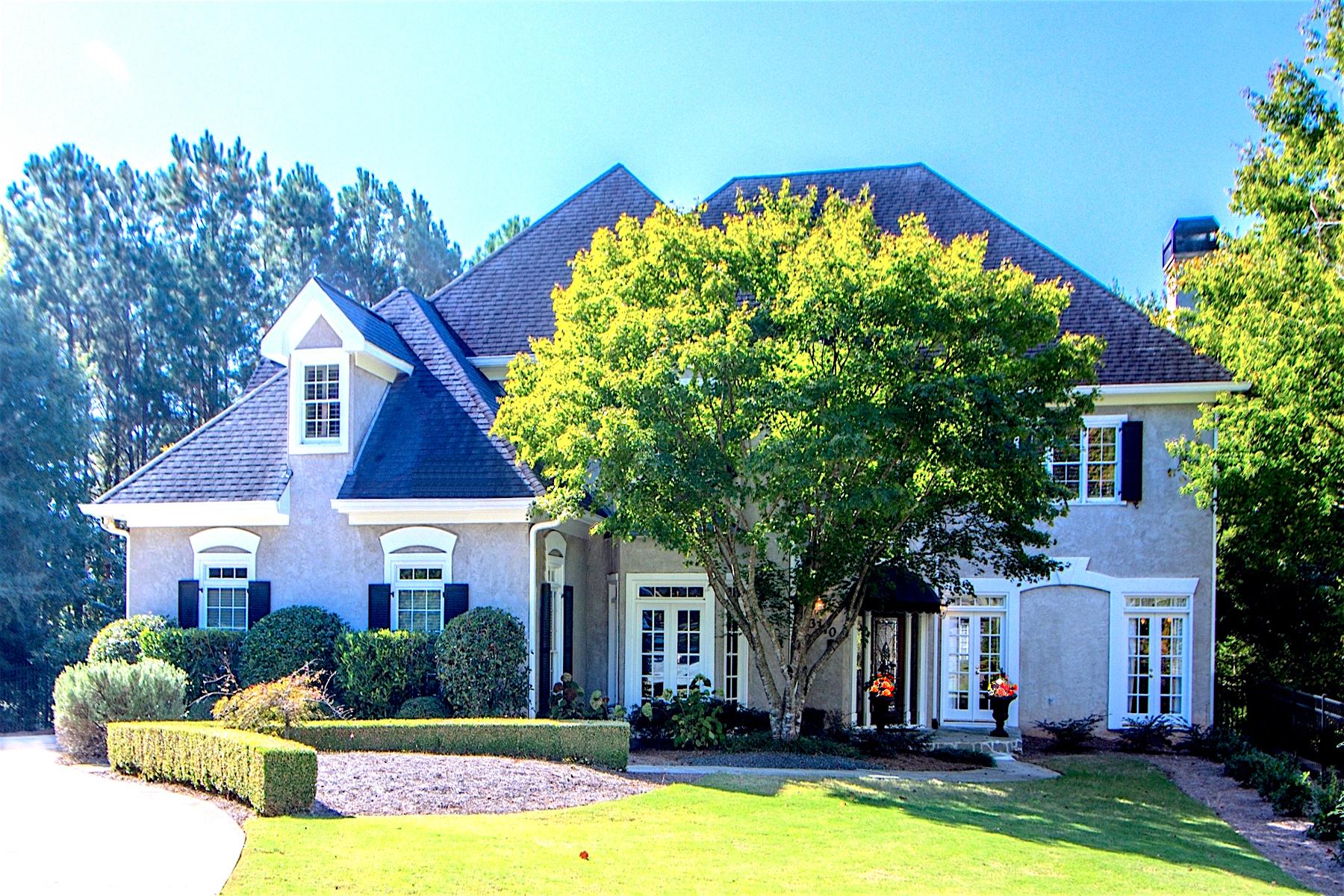 Casa Unifamiliar por un Venta en Resplendent Design, Elegant Living 3370 River Ferry Drive Johns Creek, Georgia, 30022 Estados Unidos