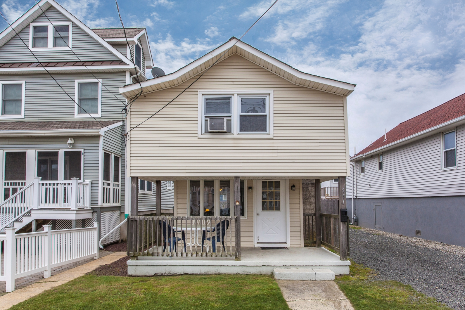 Single Family Home for Sale at Three blocks from beach 551 Brielle Road Manasquan, New Jersey, 08736 United States