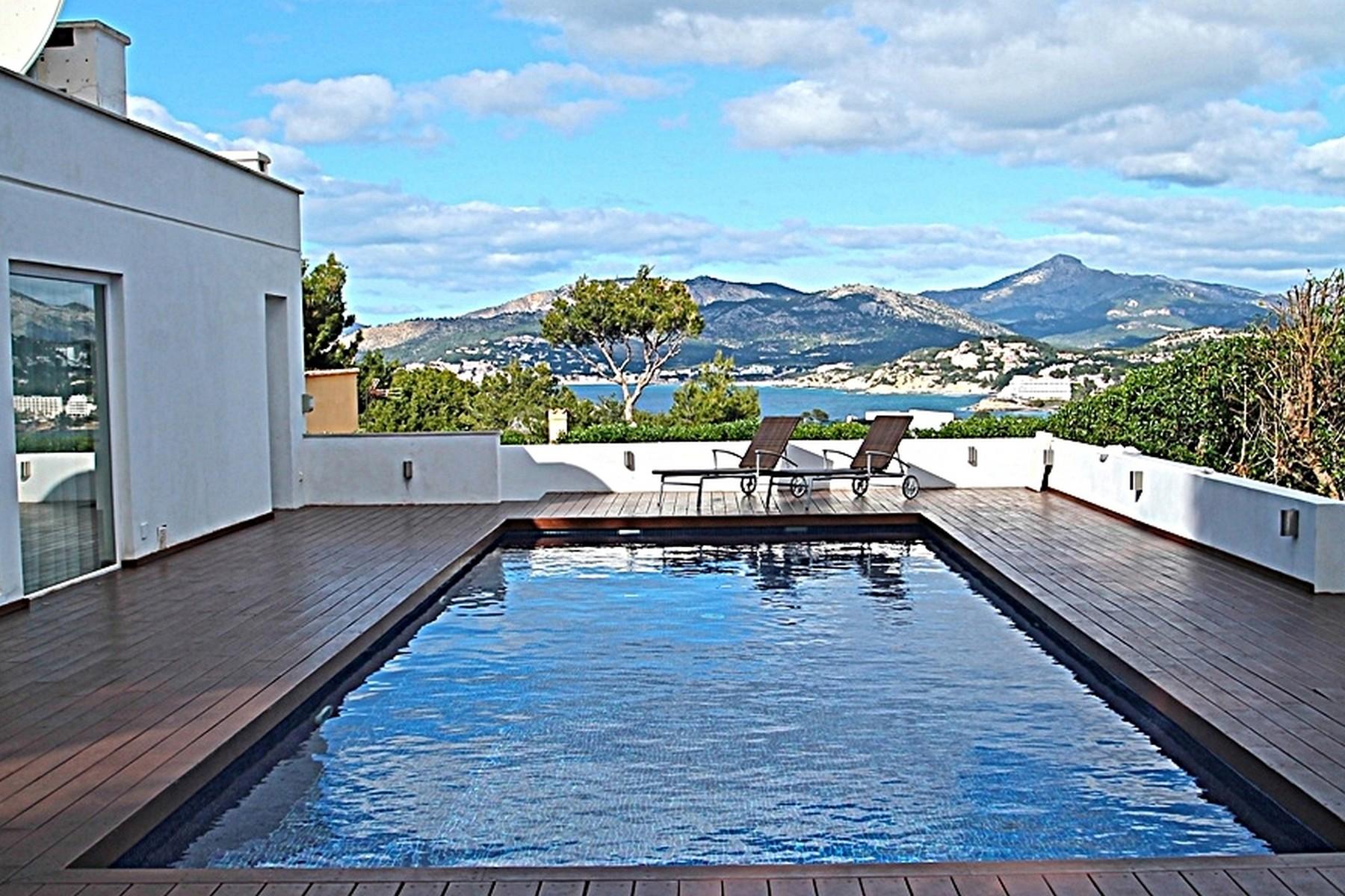Single Family Home for Sale at Modern villa with magnificent views Nova Santa Ponsa, Mallorca, 07180 Spain